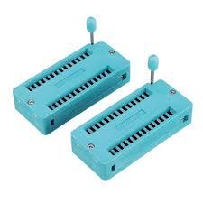 Κουπόνια έκπτωσης για αγορά <b>6pcs IC Lock Seat</b> Zif Socket Test ...