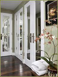 Mirrored Closet Doors Interior And Closets Regarding With Mirrors