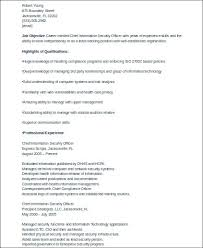 8 Sample Security Officer Resumes Sample Templates