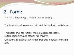 Characteristics Of Imaginative Writing