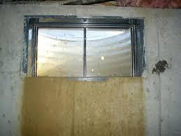 basement window installation cost replacement windows installing replacement windows basement glass block
