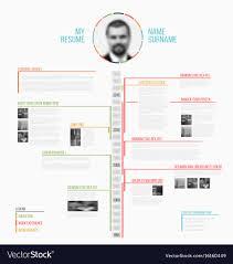 Timeline Minimalist Cv Resume Template