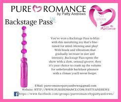 Lets Have A Party Book Now Pure Romance Backstage Pass