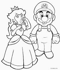 Coloring Pages Peach Mario High Quality Coloring Pages Coloring Home