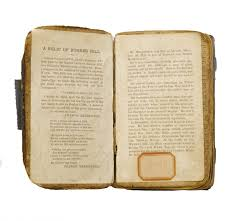 rare inscribed bible carried at the battle of bunker hill in  bunker hill bible insert