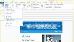 Outlook Templates Free Outlook Email Templates Free Of Create Custom Email Template
