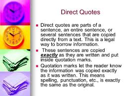 What Does This Quote Mean Custom Citations Direct Quotes ParaphrasesWhat Does It All Mean If You