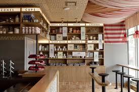 Small Ice Cream Shop Interior Design Salt Straw Design Innovation By Osmose Salt Straw Ice