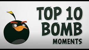 Angry Birds | Top 10 BOMBastic Moments - YouTube