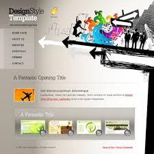 Creative Design Templates Target Webpage Template 6103 Creative Design Website