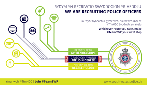 Why To Become A Police Officer Police Officers South Wales Police