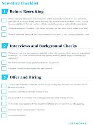 New Employee Checklist Template Boarding Managers For Onboarding