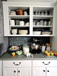 Kitchen Chalkboard With Shelf Unexpected Kitchen Backsplash Ideas Hgtvs Decorating Design