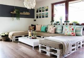 wood pallet furniture ideas. DIY Pallet Furniture Ideas Sofa-pillows-u-shape Wood