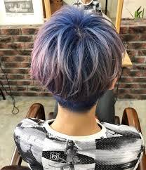 ヘアデザイナー Ikedaiさんはinstagramを利用していますブルーピンク