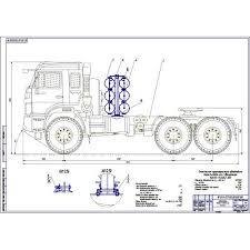работа на тему Модернизация системы питания КамАЗ для  Дипломная работа на тему Модернизация системы питания КамАЗ 53504 46 для работы на компримированном газе
