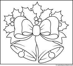 Christmas Bells Printable Color By Number