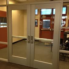 and repair of glass and aluminum business doors we have the experience need for manual open auto open and well as high security doors with access