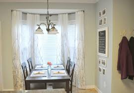Bay Window Kitchen Nice Curtains For Bay Windows Also Ikea Curtains Bay Window