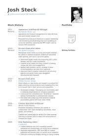 Finance Manager Resume Samples Visualcv Resume Samples Database