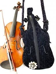 violin purse violin handbag violin themed gifts