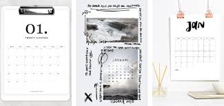 15 Of The Best Printable Calendars 2018. — Gathering Beauty