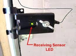 garage door openers sensors garage door sensors overhead opener sensor troubleshooting with realigning the garage door garage door openers sensors