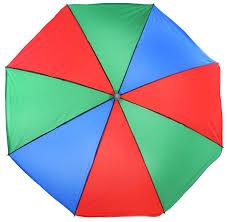<b>Пляжный зонт Wildman</b> 81-501, цвет красный, синий, зеленый ...