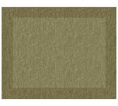 pottery barn henley rug green thyme gray