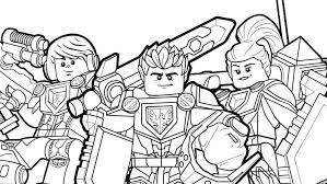 Heldenformatie Kleurplaten Lego Nexo Knights Legocom Nl