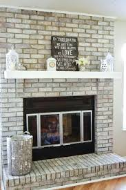 astounding resurface a brick fireplace refinish fireplace pleasurable refacing old brick fireplace