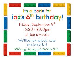 birthday printable birthday party invitations boys card printable lego themed 9th kids birthday party invitations birthday