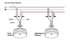 interlinked smoke alarm wiring diagram diagram mains smoke detector wiring diagram nodasystech com