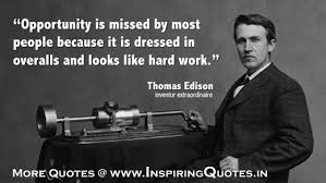 Thomas Edison Quotes Unique Famous Thomas Edison Quotes Hard Work Thoughts By Thomas Edison