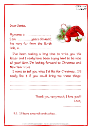 Official Letters From Santa Claus Letter Template
