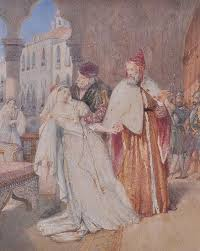 John Rogers Herbert, Marino Faliero Taking Leave of his Wife ...