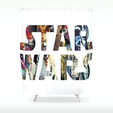 star wars shower curtain kohls hooks