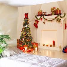 3D <b>Christmas Printed Waterproof</b> Wall <b>Decor</b> Tapestry   <b>Christmas</b> ...