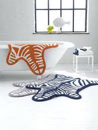 jonathan adler bathroom accessories accessories bathroom accessories zebra bath mat reversible x cm by jonathan adler
