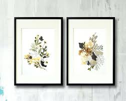 framed  on botanical wall art set of 2 with framed plant art wood framed botanical wall art set of 3 plants