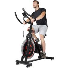titan pro indoor exercise bike with 40 lb flywheel lcd cycle cardio