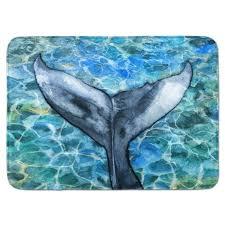 whale bathroom rug whale tail memory foam bath rug home ideas sioux falls sd