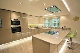 kitchen diner lighting. Open Plan Kitchen Diner, Peninsular Separating The Areas, Lighting Can Make All Diner G