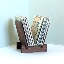 vinyl record display shelf stand in solid walnut diy disp vinyl record stand standards display holders rack
