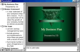 ppt business plan presentation powerpoint 2000 the autocontent wizard and presentation samples