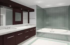 Round Light Recessed Ceiling Lamp Herringbone Tile Floor Aluminium - Recessed lights bathroom
