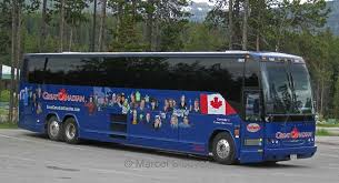 American Coach Bus Bus And Coach Photos Great American Coaches Prevost