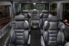 sprinter luxury van modena seating