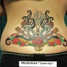 Tetování Ornamenty Vícebarevné Záda Tetování Tattoo