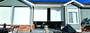 outdoor roller shades costco. Solar Shades Costco Sun For Patio Shade Sails Gallery Design Exterior Spot Sunsetter Easyshade Screens Outdoor Roller